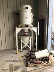 Mac Dust Collector / Filter 19avrc7-sty3-cg 10andrsquo High 500 W/ Accumulation Unit
