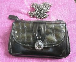 Brighton Raindrops Pewter Evening Bag Clutch Purse New With Tag $32.00