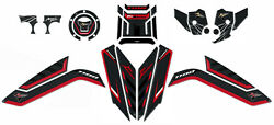 Complete Kit Stickers Motorcycle Gel 3d Compatible Honda Africa Twin 1100 L 2020
