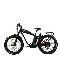 1000w High Power Electric Bike K6.0 Electric Bicycle Rear-drive Local Pickup Up