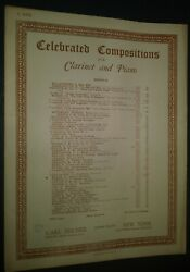 Angeland039s Serenade Celebrated Compositions For Clarinet And Piano Sheet Music