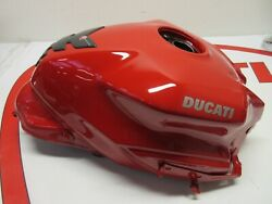 Ducati Fuel Petrol Gas Tank Supersport And Supersport S Red 58612532ba 2017-2019