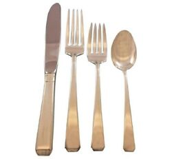 Craftsman By Towle Sterling Silver Flatware Set For 8 Service 32 Pieces