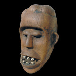 An Old Antique Authentic African Mask From The Dan Tribe 9