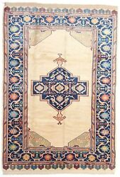 Anatolia Collection Turkish Handmade Rug Authentic Hand-knotted Wool 6and039 X 8and039-6