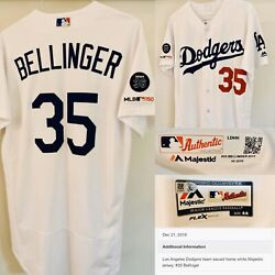 🏆 2019 Mvp Year - Cody Bellinger Dodgers Team Issued Jersey Mlb Authenticated