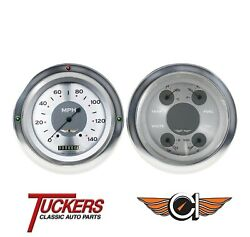 1954-55 Chevy Pu All American Gauges, Direct Fit Classic Instruments Ct54aw52