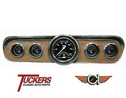 1965-66 Ford Mustang Hot Rod Ultimate Gauge Package Classic Instruments Mu65hr35
