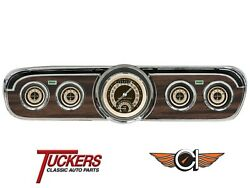 1965-66 Ford Mustang Nostalgia Vt Ultimate Gauges Classic Instruments Mu65nt35