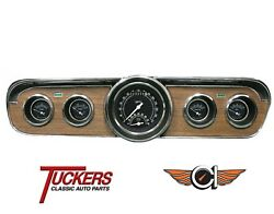 1965-66 Ford Mustang Traditional Ultimate Gauge Set Classic Instruments Mu65tr35