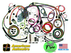 1962 - 67 Chevy Nova Complete Update Wiring Harness American Autowire 510140