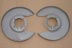 Alfa Romeo 105 Series Dunlop Models Front Brake Dustcover Land R Pair Used