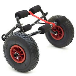 Conwy Folding Kayak Canoe Trolley Dolly Cart Pneumatic Air Tyres Wheels Strap