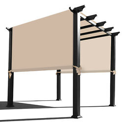 Alion Homeandcopy Universal Replacement Waterproof Pergola Cover With Rod Pockets
