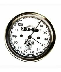 Matchless Smiths Replica White Face 0-120 M/h Speedometer Matchless New