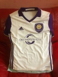 Adidas Orlando City Mls Soccers Team Jersey Youth Nwt Size M