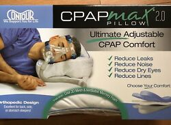 Cpapmax Pillow 2.0 And Pillow Cover Cpap Compliance For Sleep Apnea Therapy Sealed