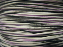 537+-and039 Mil Spec Electrical Wire Cable M81044 /12-24-907 Violet Tracer New