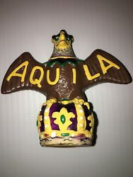 Vintage Krewe Of Aquilla Mascot Eagle Squeeky Toy New Orleans Mardi Gras