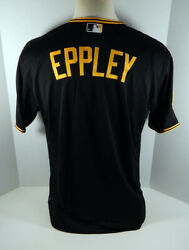 2014 Pittsburgh Pirates Cody Eppley Game Issued Black Jersey Ralph Kiner 33213