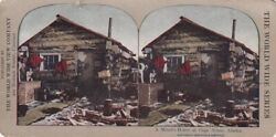 Vintage World Wide Stereoview Of Nome Alaska Gold Rush