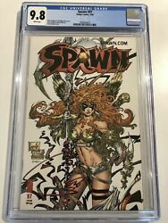 Spawn 97 Cgc 9.8 White Pages Angela Mcu Thor Marvel Cover Todd Mcfarlane Capullo