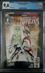 Gotham City Sirens 1 Cgc 9.6 Catwoman Poison Ivy Harley Quinn From Birds Of Prey