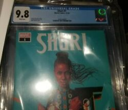 New Black Panther 2018 1st Series Shuri 1 Cgc 9.8 Direct Variant Cover Marvel