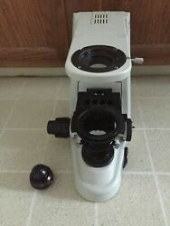 Nikon 50i Eclipse Microscope Base Stand For Project Or Parts Working Lamp/focus