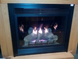 Empire Gas Fireplaces Dvd Tahoe Series Package - Venting, Blower, Remote Control