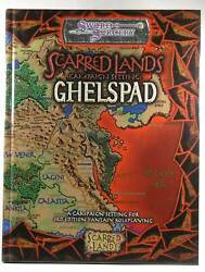 Scarred Lands Campaign Setting Ghelspad D20 Generic System Sword And Sorcery Stu