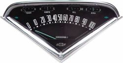 Reproduction Gauge Cluster Assembly 1955-1959 Chevrolet Gmc Pickup Truck