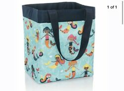 NIP New Thirty One Essential Storage Tote Mermaid Lagoon little girls design