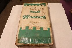 New 1955 1956 Ford Convertible Vinyl Replacement Top Nos Monarch Crown 55 56
