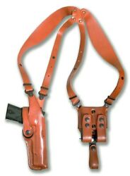 Vertical Shoulder Holster For Walther P38 9 Mm 4.9andrsquoandrsquo Bbl Right Hand Draw 1228