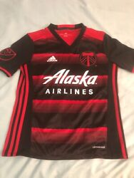 Adidas Portland Timbers Mls Jersey Youth Nwt Size M