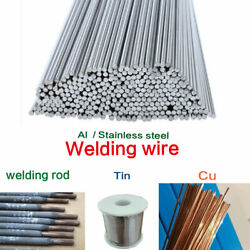 1.6 /2/2.4mm Useful Easy Melt Welding Rods Low Temperature Aluminum Wire Brazing