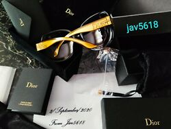 CHRISTIAN DIOR SUNGLASSES GLOSSY SOLID GOLD 18 Kt 🕶 LIM.EDITION 500RARESTNEW*