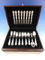 La Reine By Wallace Sterling Silver Flatware Set For 8 Service 40 Pieces
