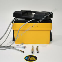 Portable Dental Delivery System With Low And High Speed Attachments Hve And A/w
