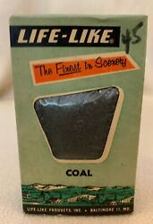 Vintage Model Railroad Train Life-like Coal The Finest In Scenery Unopened Box