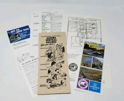 1974 Algoma Central Railway Wilderness Vacations Vintage Brochure Packet - Agawa