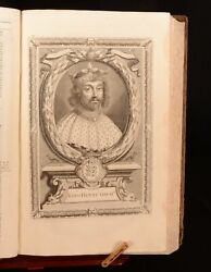 1706 3vol A Complete History Of England With The Lives Of All Kings Queens Illus