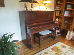 Cable Nelson Upright Piano - Serial 113923 Circa 1918/19 Antique Vintage Quality