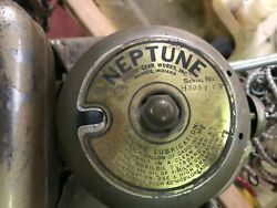 Antique Neptune Outboard 1.7 Hp Marine Boat Motor Vintage 1960and039s