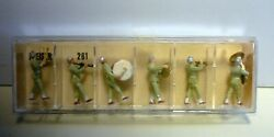 Preiser, Vintage, New In Boxes, Ho, Military Band, Items 261, 262, 263, 264