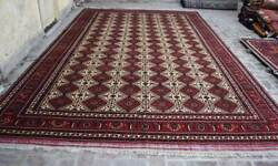 9and03910 X 15and0397 Handmade Afghan Tribal High Quality Turkmen Palace Size Area Rug