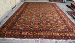 9and03910 X 15and03910 Ft Handmade Afghan Tribal High Quality Turkmen Palace Size Area Rug