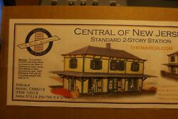 N Scale Cnj 2 Stoery Station By N- Scale Architect 10013