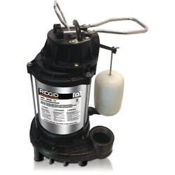 Ridgid 1/3 Hp Stainless Steel Dual Suction Sump Pump Professional Grade Vertical